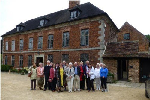 Mayfield Heritage Group visit to Norbury Manor