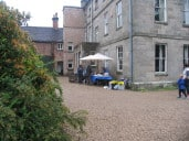 The drive at Mayfield Hall leading to the Summer Fete 2015
